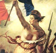 Le bonnet phrygien est actuellement la coiffe préferée de Marianne, lallégorie de la République Française.